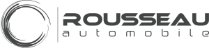 Logo Rousseau Automobile Gris