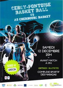 Affiche 12122015 AS CHERBOURG