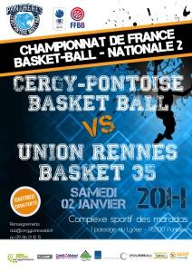 Affiche Rennes02122016