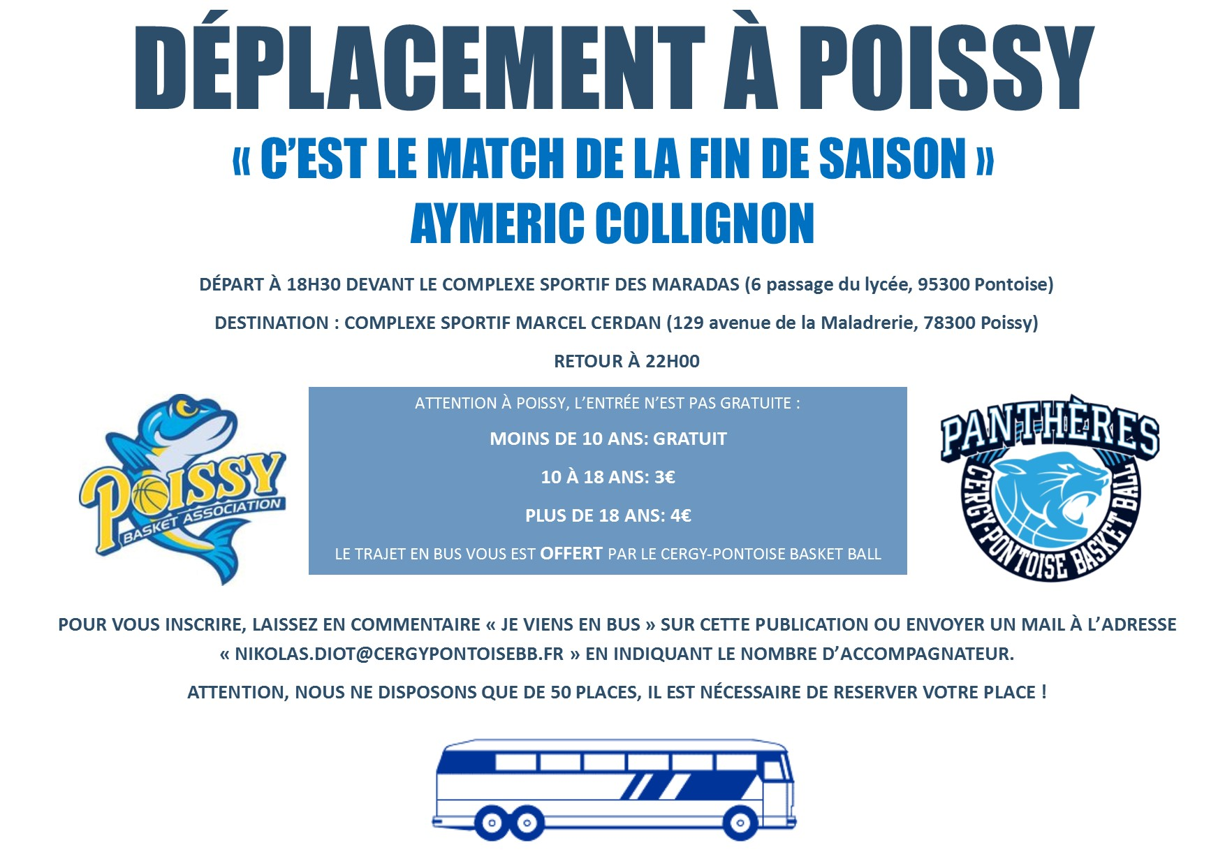 DEPLACEMENT POISSY
