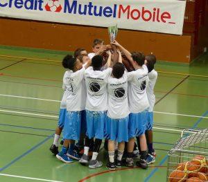 CPBB U13 région - vainqueur coupe du Val d'!oise